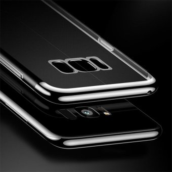 For Samsung Galaxy S8 Plus Clear Soft Tpu Phone Case Luxury Ultra Thin Plating Crystal Transparent Shockproof Phone Cover Silicone Case for Samsung GalaxyS8 PLUS /Samsug S 8PLUS /SAMSUNGS8PLUS/samsung galaxy s8 plus/samsungs8plus/Samsung galaxy S8+ - intl - 4