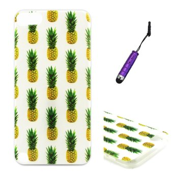Harga Moonmini Light TPU Soft Case for Apple iPod Touch 5 6 - Pineapple
