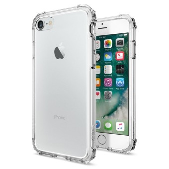 Harga Spigen Iphone 7 Crystal Shell Case Casing Cover - Crystal Clear