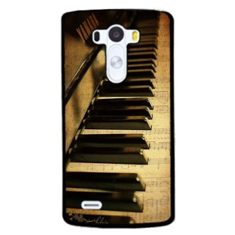 Harga Y&M Luxury Piano Pattern LG G4 Cover (Multicolor)