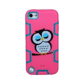 Harga iPod Touch 6 Case, iTouch 5 Hybrid 3 Layer Designed Heavy Duty High Impact Armor Protective Case Cover for iPod Touch 6th - intl