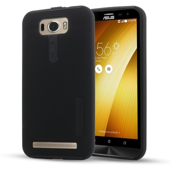 Harga Moonmini Hybrid Combo Shockproof Back Case Cover for Asus ZenFone 2 Laser ZE550KL 5.5 inch (Black) - intl