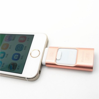 128GB 128GB 128GB I-Flash Drive Mini Usb Metal Pen Drive Otg Usb Flash Drive For IPhone 5/5s/5c/6/6 Plus/ipad I-Flashdrive Pendrive - intl