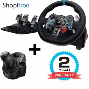 Harga Logitech / G G29 Driving Force Steering Wheel + Shifter (for PS4/PS3/PC) + 2 Years Warranty