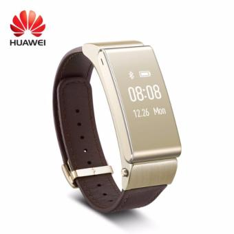 Harga HUAWEI TalkBand B2 Android Bluetooth Fitness Watch + Earpiece - Elite Golden