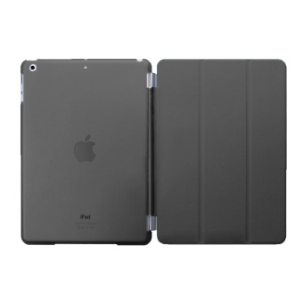 Harga Welink Detachable Smart Cover + Slim Transparent Back Case for Apple iPad Mini 4 (Black) - intl