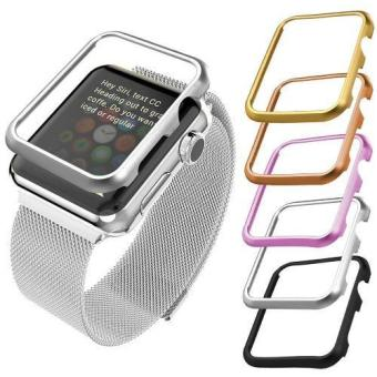 Harga Case for Apple Watch Series 2 and 1 38mm Aluminum Alloy Case (Without Screen Cover) - intl