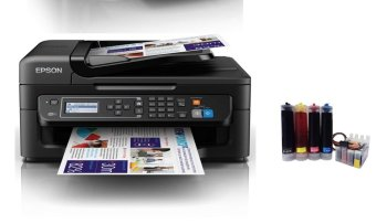 Harga Epson WorkForce WF-2631 WIRELESS CONNECTIVITY. SEAMLESS SAVINGS.