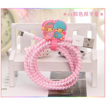 Harga Little Twin Star Cable Protector with Cord Winder