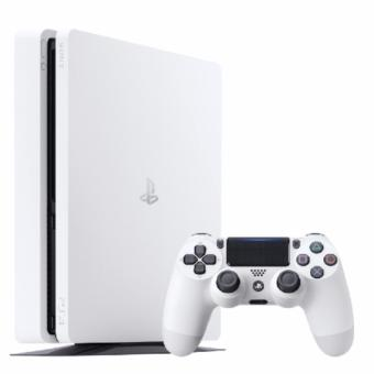 Harga New Playstation 4 slim console PS4 (500GB) White (CUH-2006 with Sony warranty)