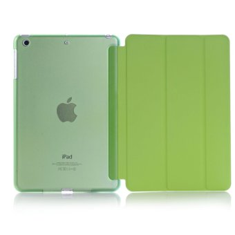 Harga Welink 2 in 1 ( Ipad Air / ipad 5 )Case , Tempered Glass + Ultra Slim Smart Cover PU Leather Case for Apple ( Ipad Air / ipad 5 )Case (Green)(Export) - Intl