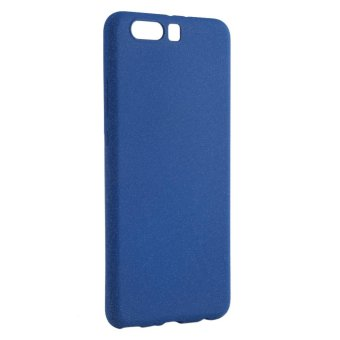 Ultra-Thin Shockproof Cover Soft TPU Matte Back Shell Phone Case For Huawei P10 Plus(Blue) - intl