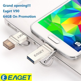 Harga 64GB OTG USB 3.0 Flash Drive For Computer/ Android phone