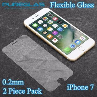 Harga PureGlas Tempered Glass 0.2mm Apple iPhone 7 [2-Piece Pack] (Crystal Clear)