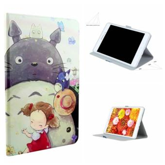 Harga For Samsung Galaxy Tab A 10.1 T580 T585 Painting Leather Back Cover Case(Totoro) - intl