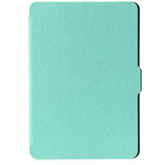 Harga Leather Smart Cover for Amazon Kindle Paperwhite 1 / 2 / 3 (Mint Green)