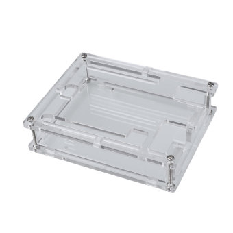 Harga Transparent Acrylic Case Enclosure Computer Box Kit For Arduino UNO R3 DIY