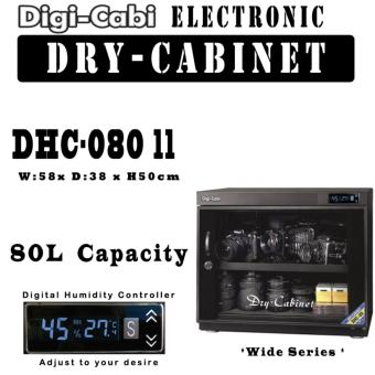 Harga DHC-80 II | 80L Digi Cabi Electronic WIDE Dry Cabinet | 5 Years Warranty |