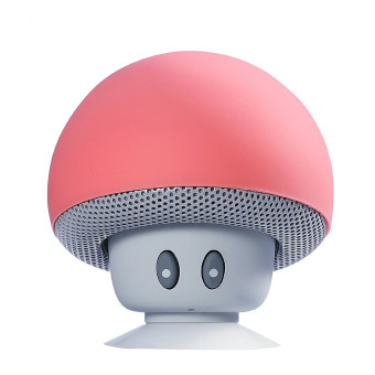Harga Welink Mini Mushroom Cute Style Portable Bluetooth V3.0 Wireless Stereo Speaker Hands Free Speakerphone with Built-in Mic (Red)
