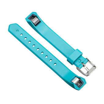 VAKIND Luxury Silicone Strap Buckle for Fitbit Alta Twill Strap (Sky Blue) - 4