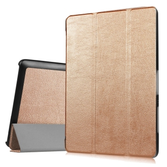 Harga Leather Case Flip Cover For Acer Iconia One 10 B3-A30 (Golden)
