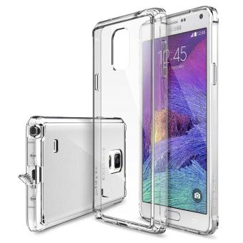 Harga Ringke Fusion PC And TPU Back Cover Case For Samsung Galaxy Note 4 (Clear) - intl