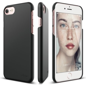 Harga Elago Slim Fit 2 Case for iPhone 7 (4.7inch) + Front Protection Film included - Black