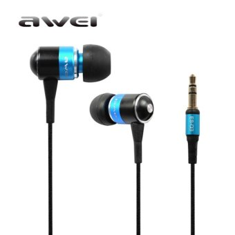 Harga Awei ES-Q3 Super Bass In-ear Earphones Headphone For iPhone - intl