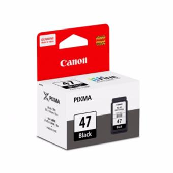 Harga Original Canon PG-47 Black for Canon Pixma E400/460/480 FINE Cartridge