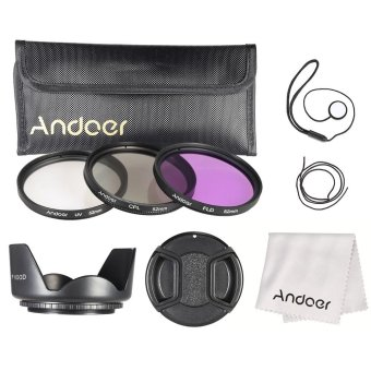 Harga Andoer 52mm Filter Kit (UV+CPL+FLD)