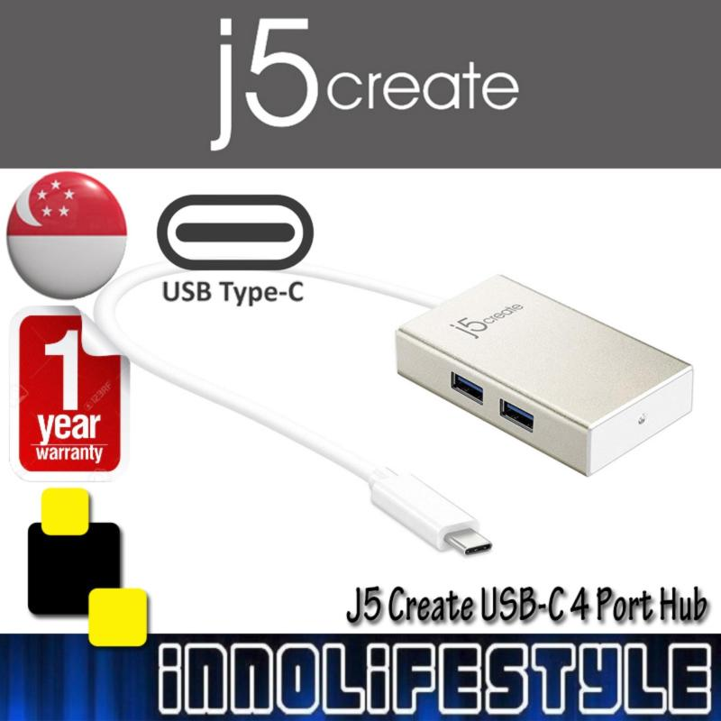J5 Create JCH343 USB-C 4 Port Hub