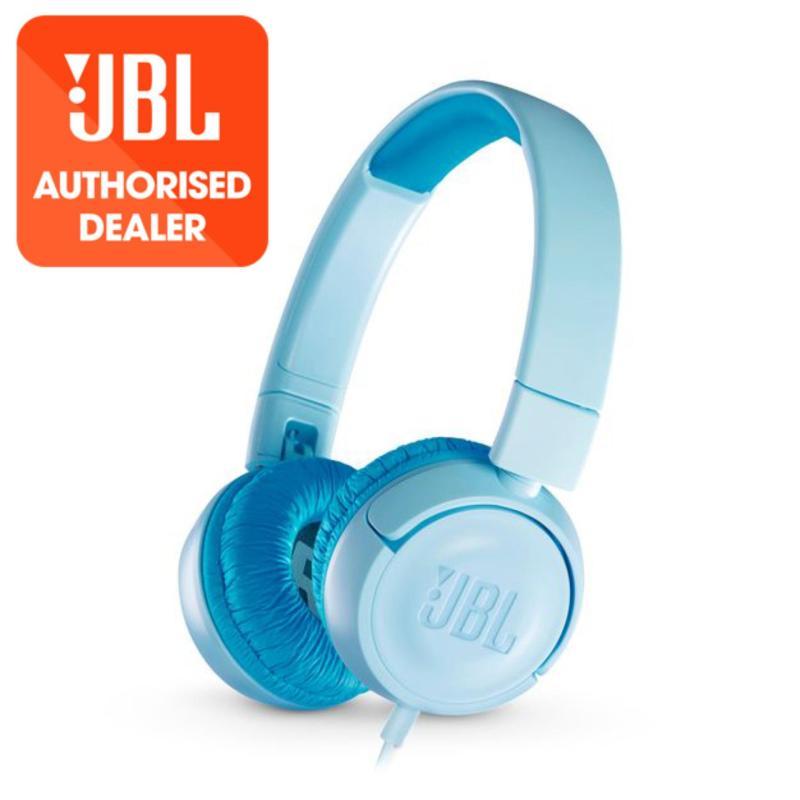 JBL JR300 Blue Kids on-ear Headphones <85dB Singapore