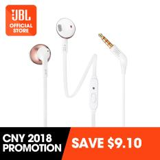 a005f6bd572 JBL T205 earbud headphones (Rose Gold) Singapore