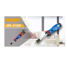 JM-6100 Ratchet screwdriver bit set Singapore