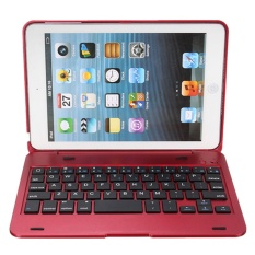 Kasdgaio 2 in 1 Bluetooth Keyboard Case Wireless Keyboard for Tablet Waterproof Dustproof Foldable Stand Cover Holder for IPad Mini 1 2 3 - intl Singapore
