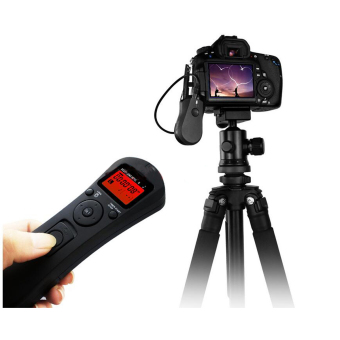 LCD Time Lapse Remote Control Timer Shutter Release for Canon 70D60D - 5