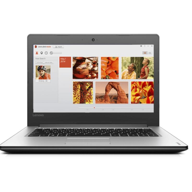 Lenovo Notebook 80TU00CQSB NEW IdeaPad 310-14IKB: 14.0 FHD TN GL(SLIM) / Intel Core I7 7500U / Graphic: NVIDIA GEFORCE GT 940MX (4GB DDR3L) / 4G DDR4 2133 ONBOARD/ 1TB 9.5MM 5400RPM / 1 Year Carry In (SILVER)