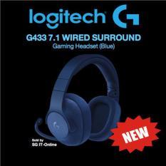 Logitech G433 7 1 Surround Sound Wired Gaming Headset Singapore