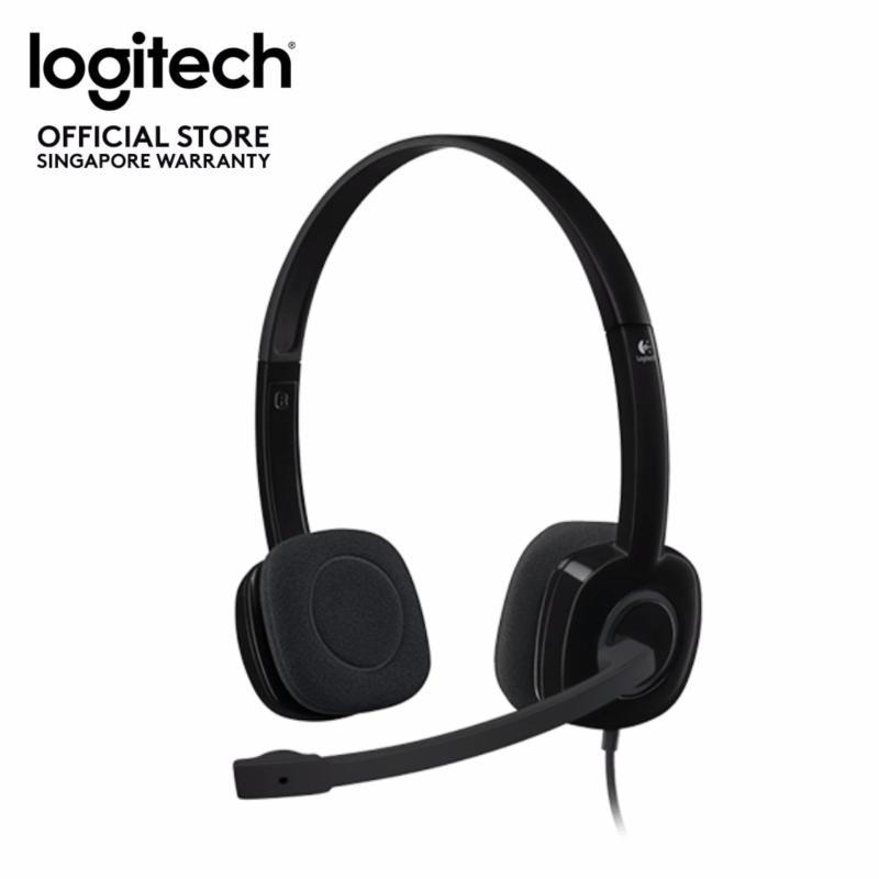 Logitech H151 Stereo Headset with Single 3.5mm Jack Singapore