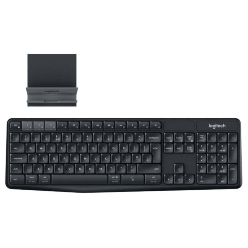 Logitech K375S Multi Device Wireless Keyboard and Stand Combo Singapore