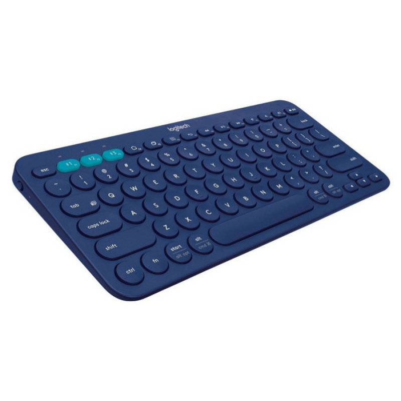 Logitech K380 Blue Multi-Device Bluetooth Keyboard Singapore