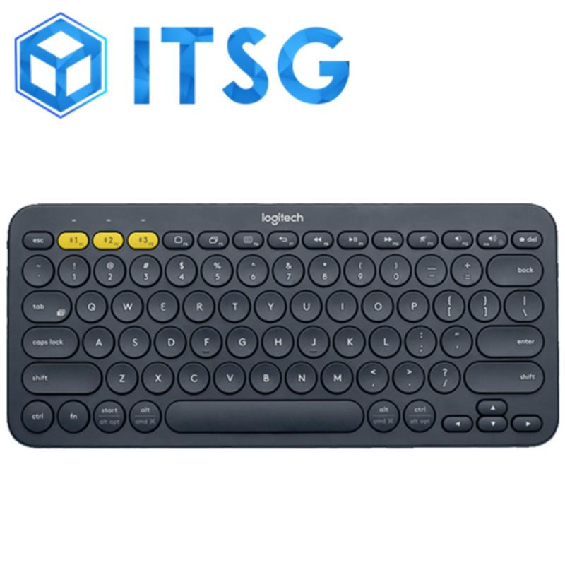 LOGITECH K380 MULTI-DEVICE BLUETOOTH KB (BLACK) (1Y) Singapore