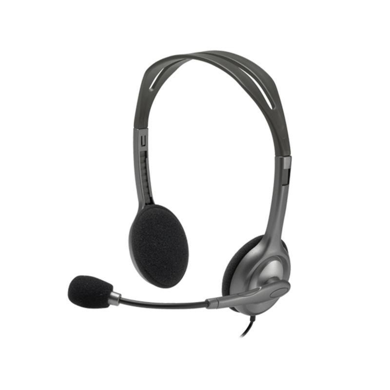 Logitech Stereo Headset H110 - Black Singapore