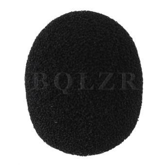 Loudspeaker Lapel Microphone Wind Shield Mic Sponge EY-M05 Set of10 - 4