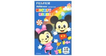 Mickey & Minnie Fujifilm Instax Film (10 sheets)