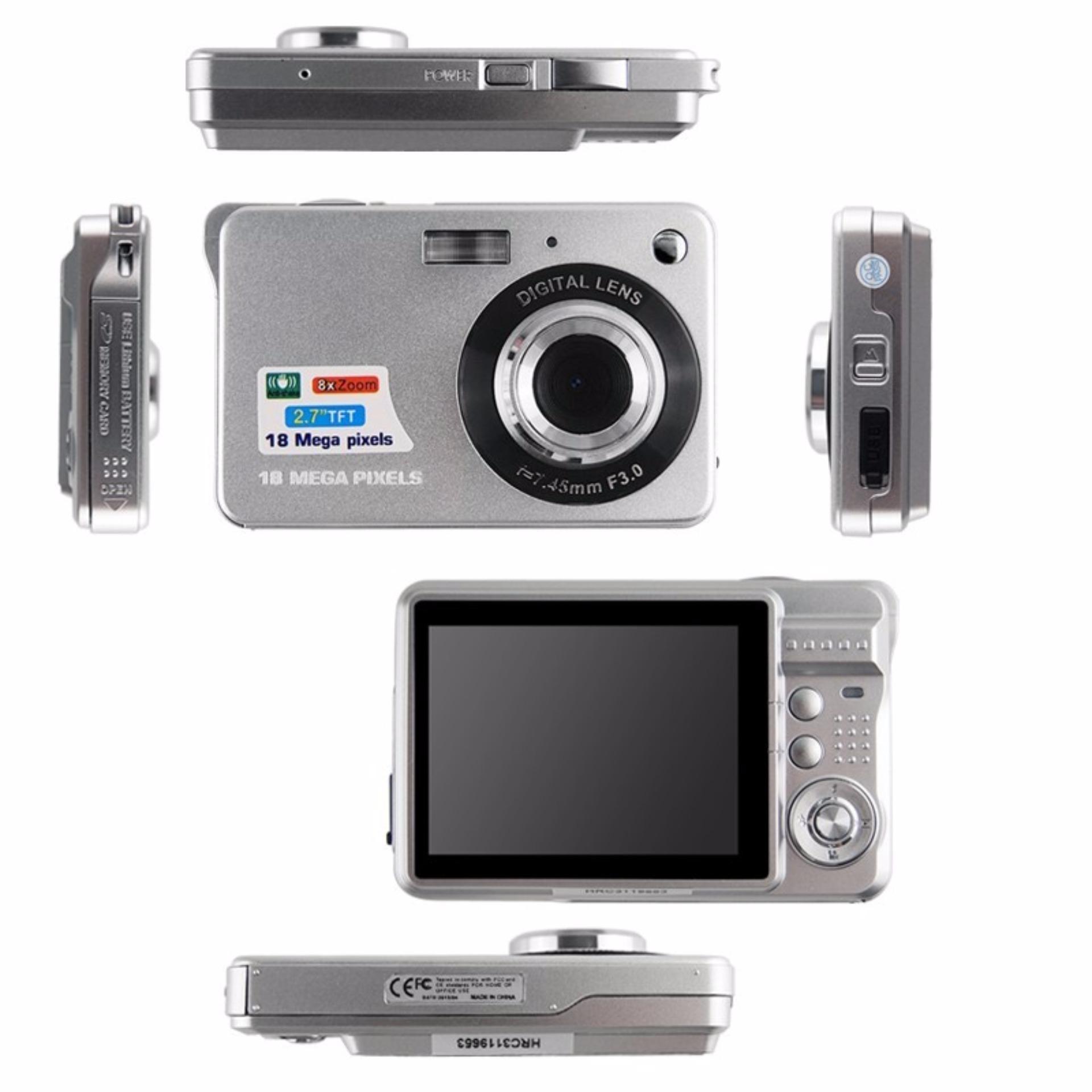 Mini Digital Camera 8x Digital Zoom Digital Photo Frame 2.75MP COMS ...
