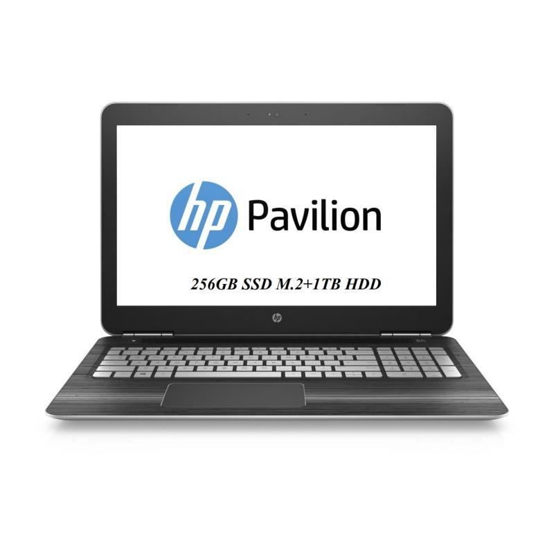 New 7th Gen2017 HP Pavilion 15-BC222TX i7-7700HQ upto 3.8 Ghz 8GB RAM 256GB SSD M.2+1TB HDD NVIDIA® GeForce® GTX 1050 (4 GB GDDR5 dedicated) FullHD Win10