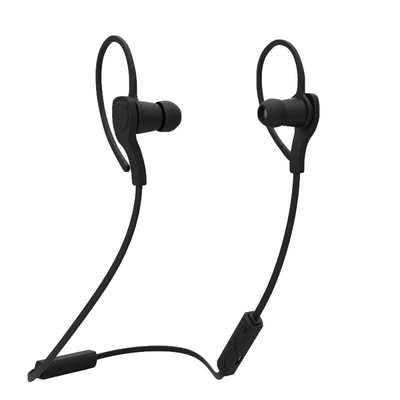 niceEshop Wireless Bluetooth 4.1 Stereo Earphone Headphone with Mic (Black) Singapore