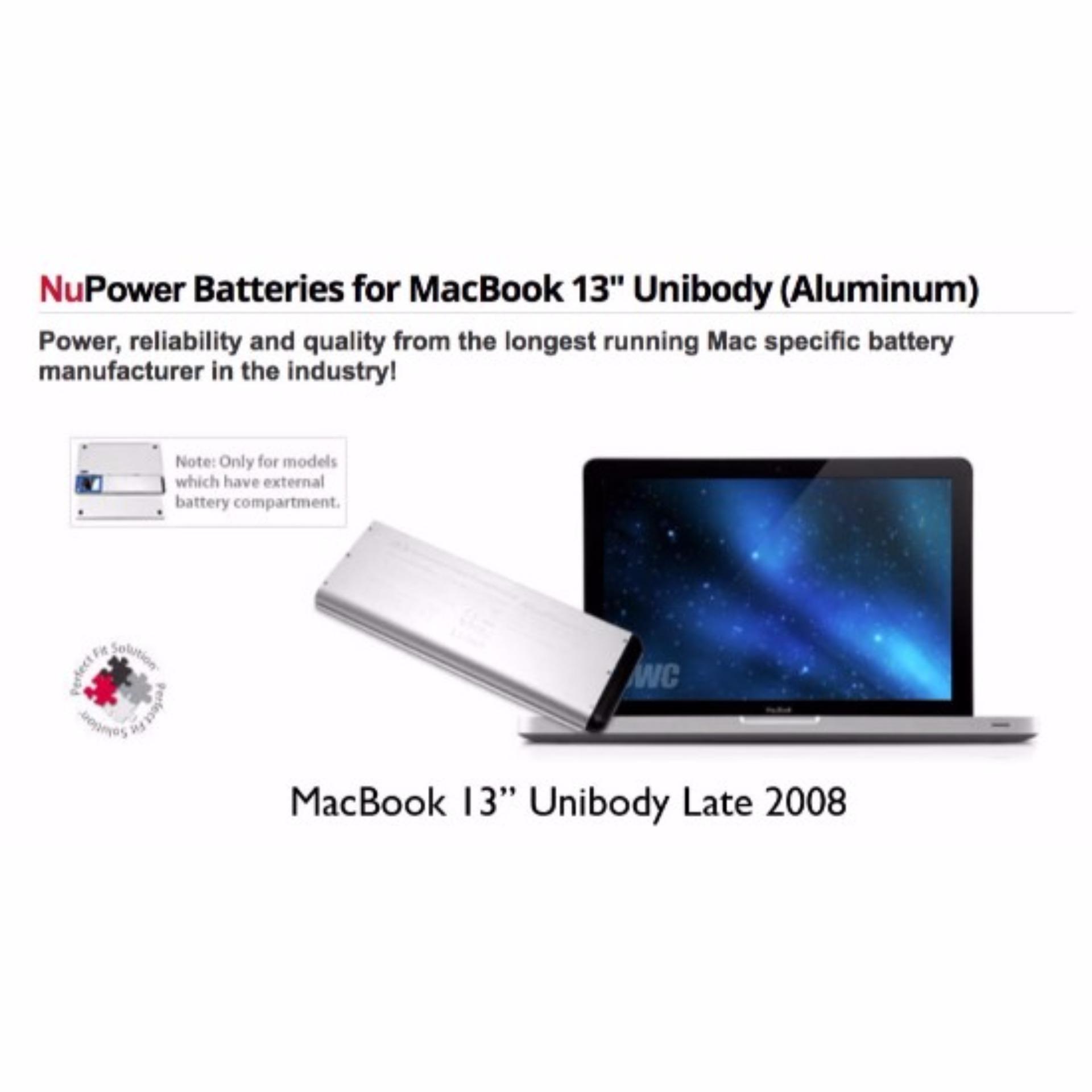 NuPower Battery MacBook 13  2008
