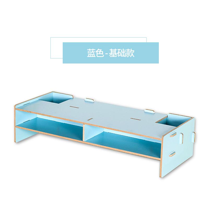Office desktop machine screen shelf support
